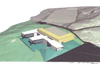 Tegning ny skole