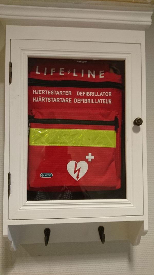 Hjertestarter til Flerbrukshuset - Kvænangen kommune
