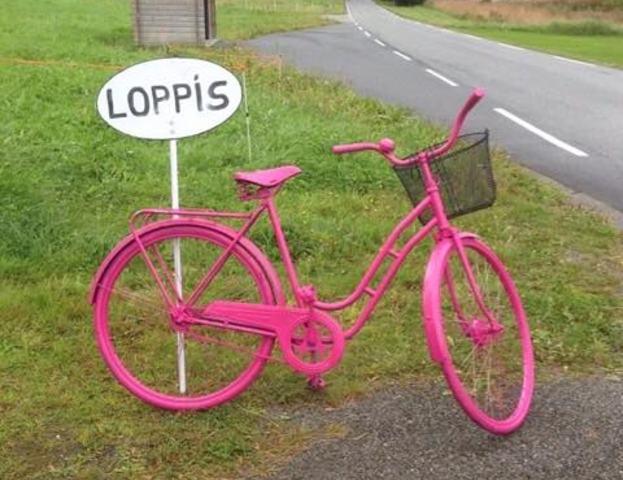 Loppis-sykkel