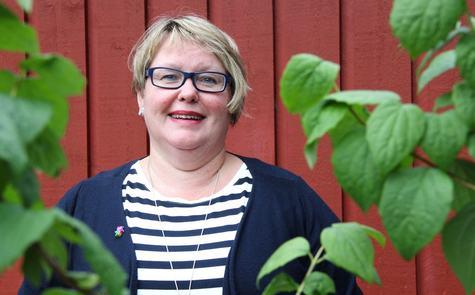 Kreftsjukepleiar Anne-Britt Hauge er kreftkoordinator i Nordhordland. Foto: Silje Andvik Hoaas, 2016