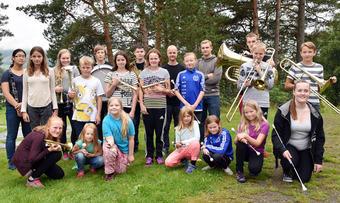 surnadal skolekorps og drillere 2016