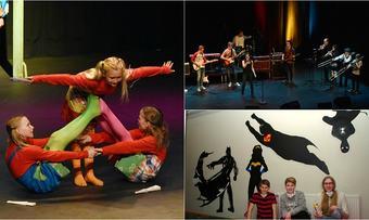 Kulturskolen på Indre Nordmøre kollasj