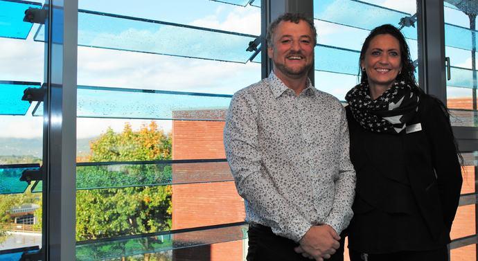 Tor Rune Halset og Monica Selvik