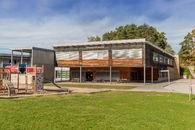 Fagerlund skole sett fra utsiden