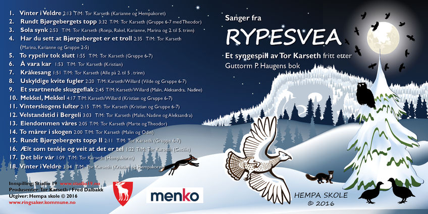 RYPESVEA CD BOOKLET 8 8-1