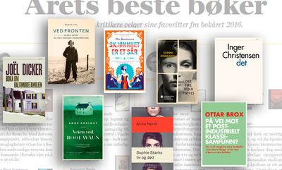 2016 Årets beste bøker!