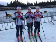 J11-12: Mari, Kristine og Frida. 5. plass!