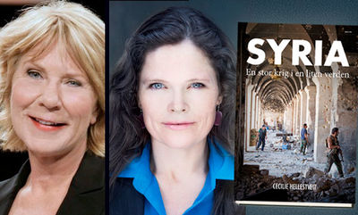 Boklansering: Cecilie Hellestveit - Syria