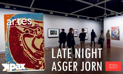 Late Night på Munchmuseet: Asger Jorn