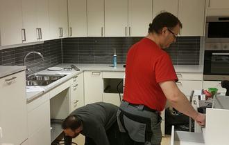 Kjøkken i Moveien