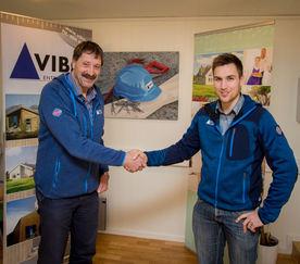 Bjørnar Nordlund er ny anleggsleder i Vibo Entreprenør