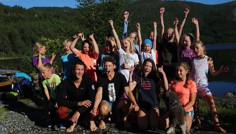 Friluftsskolen 2016 - ekspedisjon fra Bøfjorden til Halsa.