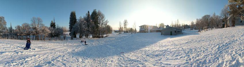 Stort og fint uteområde ved Stavsberg skole og SFO