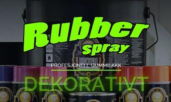 rubbersprayskjermdump