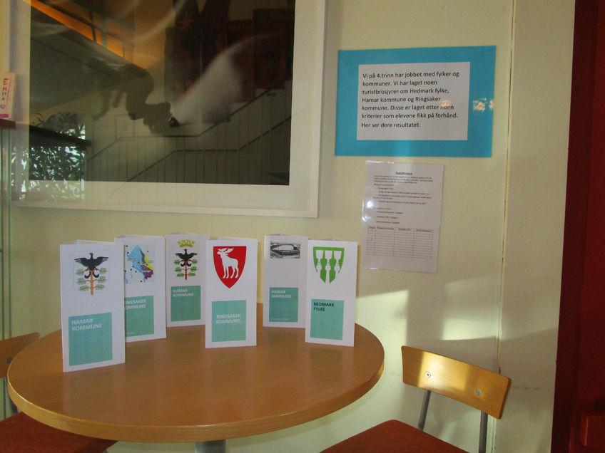 Brosjyrer laget av 4. trinn