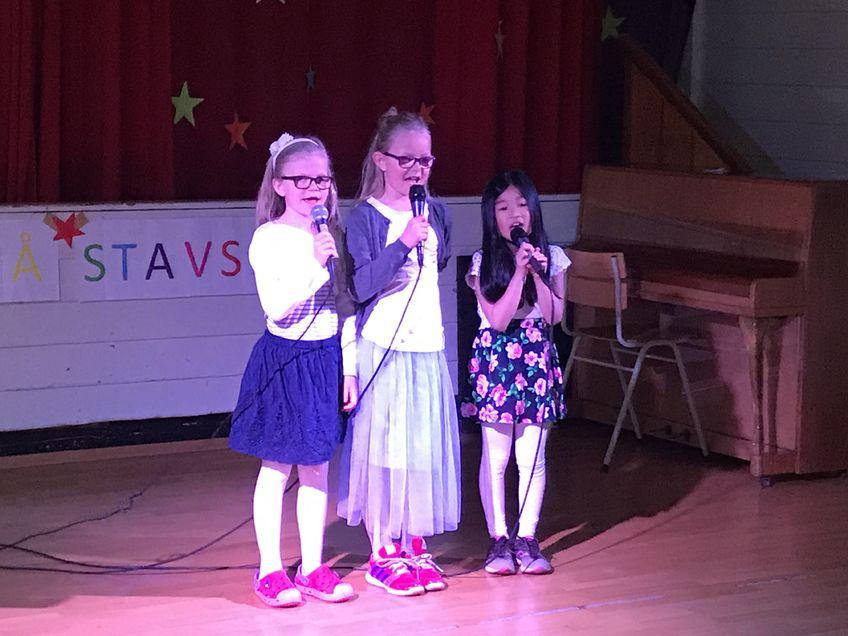 Leah, Emely og Lina