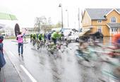 Syklister i stor fart