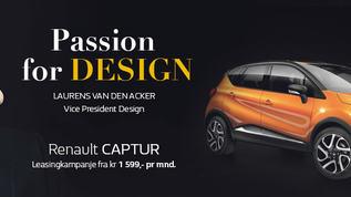 Renault Captur – passion for design 960x305