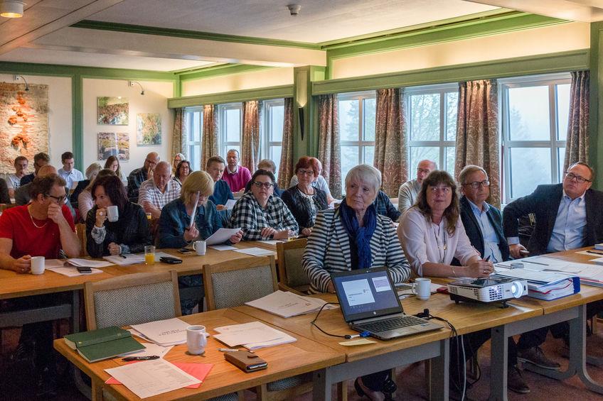 Publikum under Rammekonferansen
