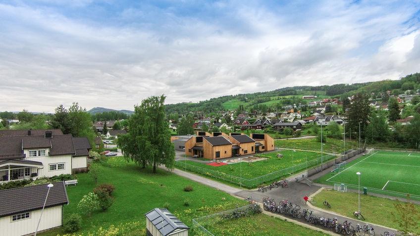 Det nye avlastningssenteret i Brumunddal