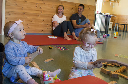 Berlin møte med barn