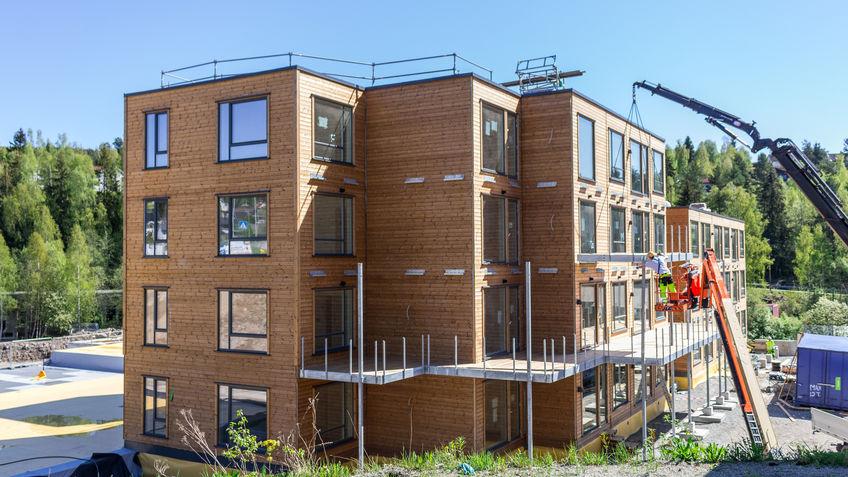 Stor byggeaktivitet i Moelv