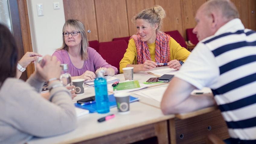 Gjennom lederkurset blir deltakerne mer bevisste, tryggere og tydeligere i lederrollen