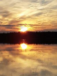 Finland,Taivalkoski,midnight sun,northern Finlland