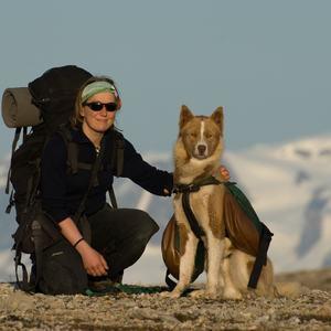 Linda Bakken fra Tingvoll overvintret i fangstbu på Svalbard