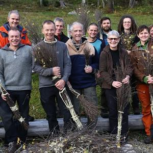14 dyktige deltagere på sopelimekurs!