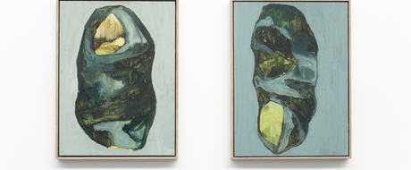 Cocoon I&II. Oil on mdf. Lina Norell