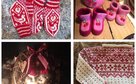 Fire ulike juleting