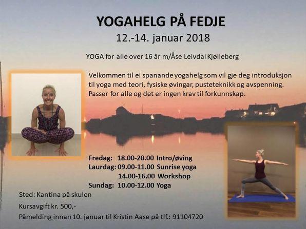 Yogahelg