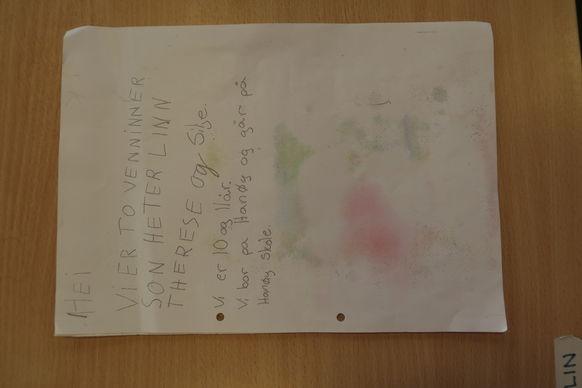 Silje og Linn Therese fekk endeleg svar på flaskeposten si!