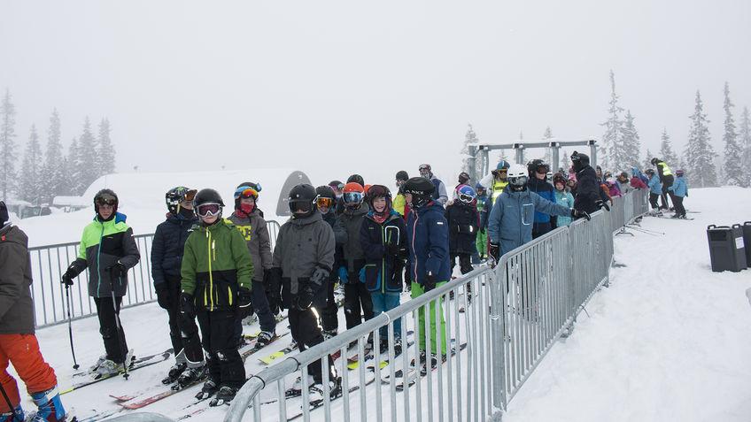 Alpinister i heiskø