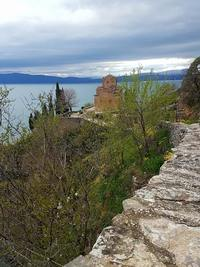 Church of Saint John the Theologian at Kaneo in Ohrid, Macedonia.