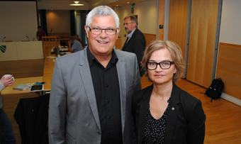 Helge Røv og Margrethe Svinvik