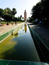 Koutoubia Mosque Minaret Marrakesh