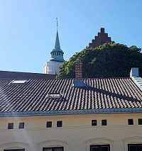 Blue tower,Blåtårnet,Akershus fortress,festning,Oslo,Norway
