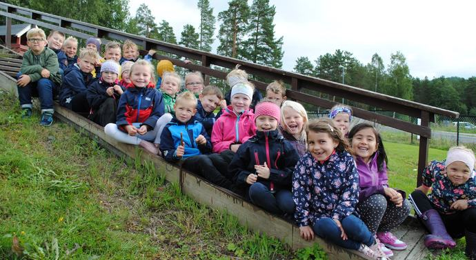 Første trinn Rindal skole 2018