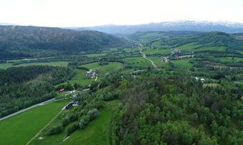 Kroksjø Sæterøya dronebilde John Storholt