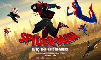 programbilde liggende Spider-man