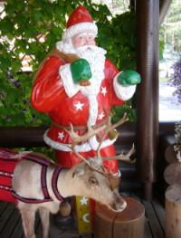 Santa Claus,rovaniemi,finland,santa village,reindeer