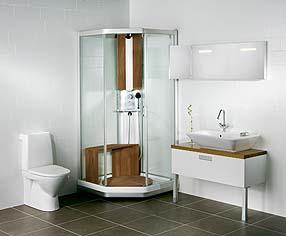 Toalett med spyling