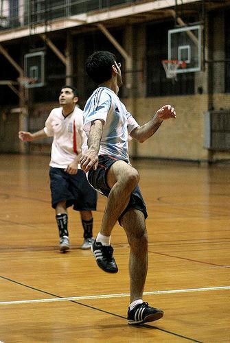 Innendørs Fotball - Tatt av Abdullah AL-Naser