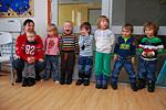 Besøk fra Skaland barnehage på rådhuset