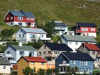 colorful houses - quaint town