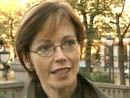 Samferdselsminister Torild Skogsholm (foto: NRK)