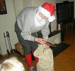 Santa,Oslo,Norway,Moss,Mosseskogen,Mossenissen