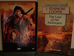 The Last of the Mohicans,Mohicans,Fenimore Cooper